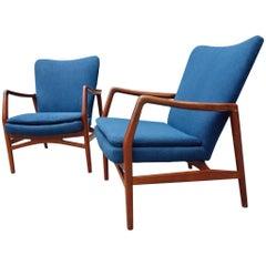 Midcentury Lounge Chairs by Kurt Olsen