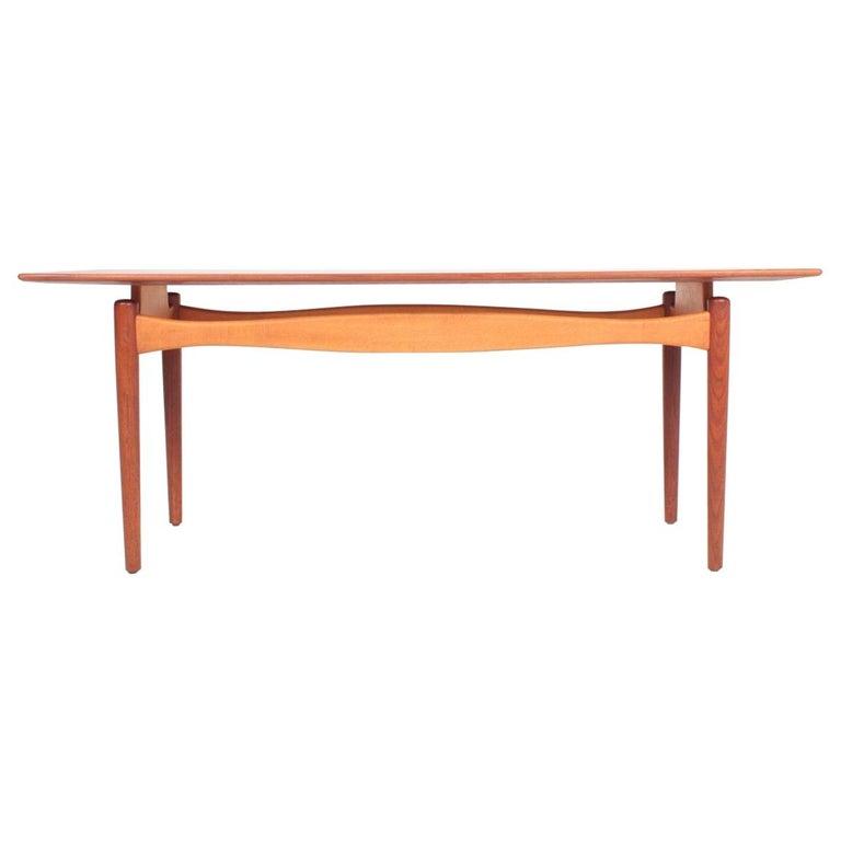 Midcentury Low Table Designed by Finn Juhl, Danish Design, 1950s For Sale