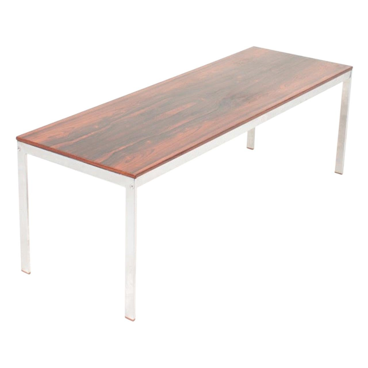 Midcentury Low Table in Rosewood, Danish Design, 1960s