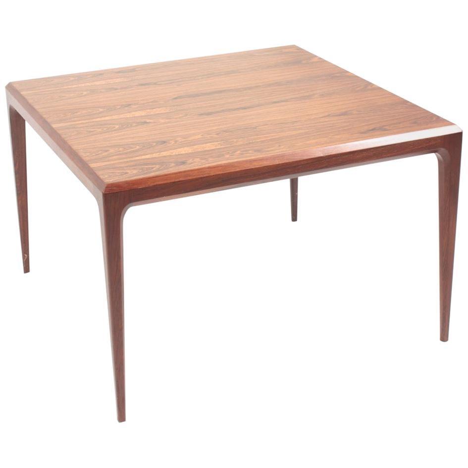 Midcentury Low Table in Rosewood, Designed by Johannes Andersen