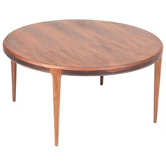 Midcentury Low Table in Rosewood, Designed by Johannes Andersen