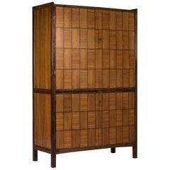 Midcentury Mahogany Cabinet by David Rosén