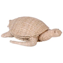 Mario Torres Wicker Turtle