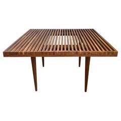 Midcentury Mel Smilow Slat Wood Coffee Table