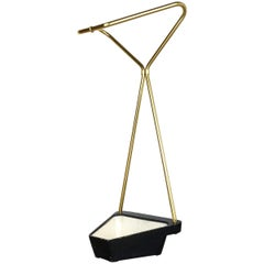 Midcentury Metal Brass Umbrella Stand, Germany, 1950s, Nr. 1