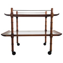 Midcentury Mexican Modernist Service Cart by Frank Kyle