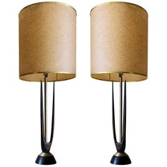 Midcentury Mexican Modernist Table Lamp 'Set'