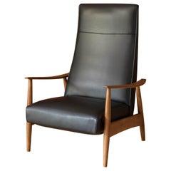 Mid Century Milo Baughman Recliner Lounge Chair