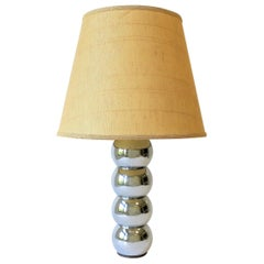 Mid-Century Modern Chrome Ball Desk or Table Lamp