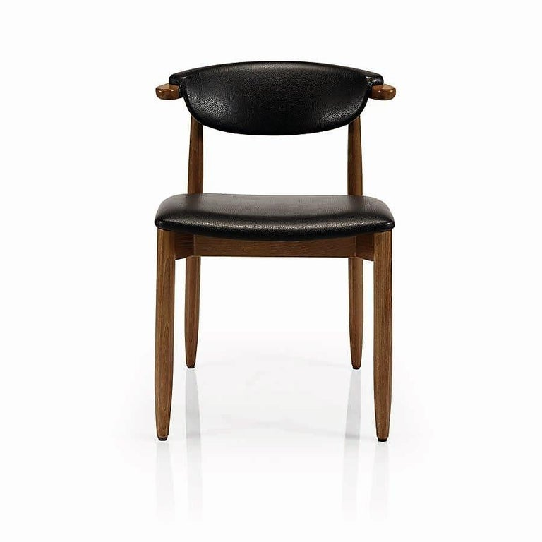 Mid-Century Modern Dining Chairs Set of 8 In New Condition For Sale In New York, NY