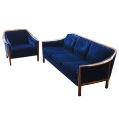 Mid-Century Modern Lounge Set, Sweden, 1960-1969