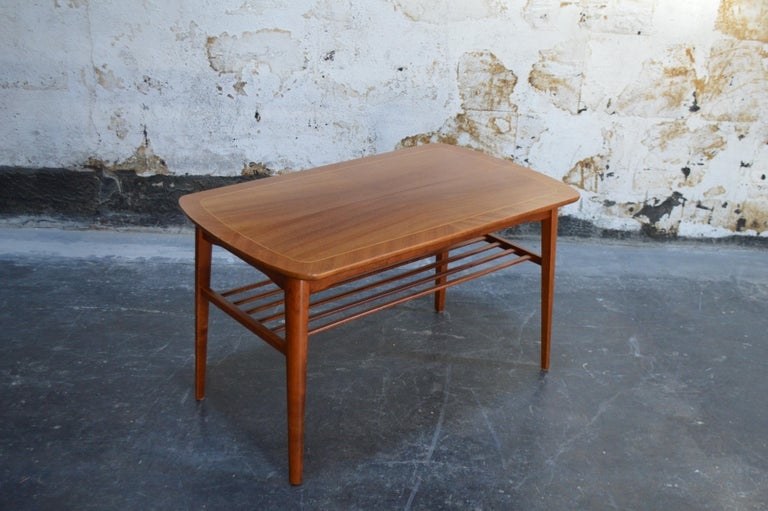 Mid-Century Modern Mahogany Coffee Table for Tingströms For Sale 5