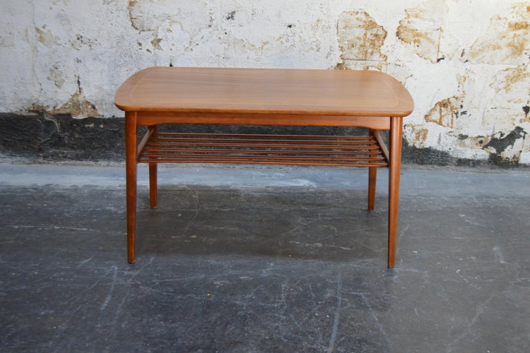 Swedish Mid-Century Modern Mahogany Coffee Table for Tingströms For Sale