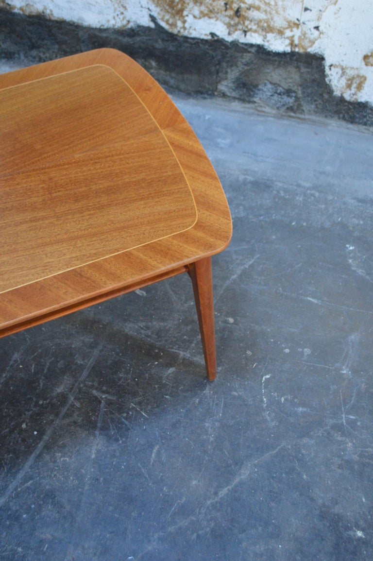 Mid-Century Modern Mahogany Coffee Table for Tingströms For Sale 1