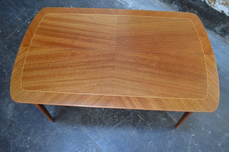 Mid-Century Modern Mahogany Coffee Table for Tingströms For Sale 2