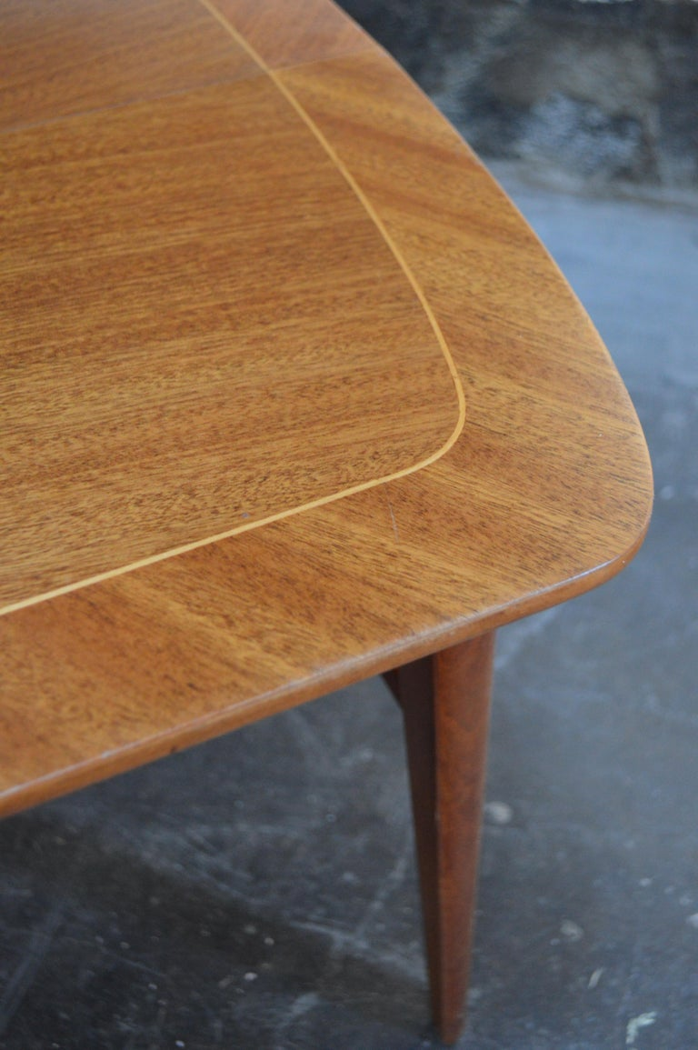 Mid-Century Modern Mahogany Coffee Table for Tingströms For Sale 3