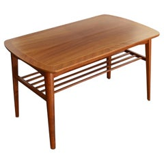Mid-Century Modern Mahogany Coffee Table for Tingströms