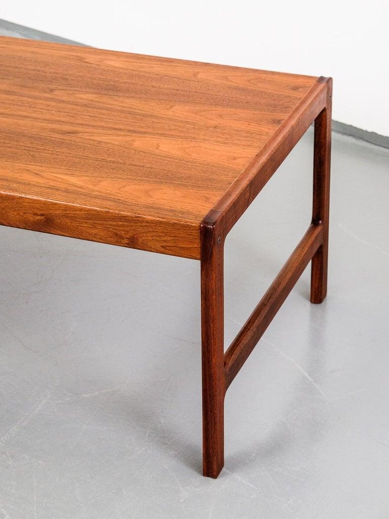 Scandinavian Modern Mid-Century Modern 'Senator' Teak Coffee Table by Folke Ohlsson for Tingströms