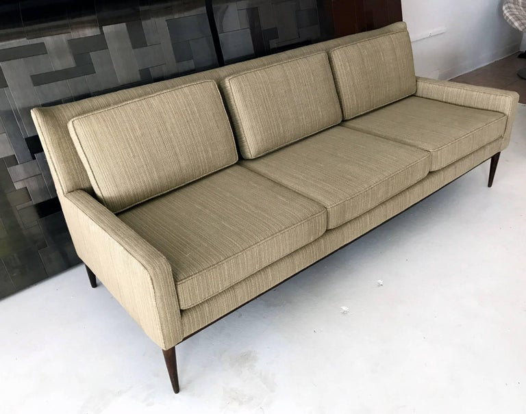 American Mid-Century Modern Sofa by Paul McCobb For Sale
