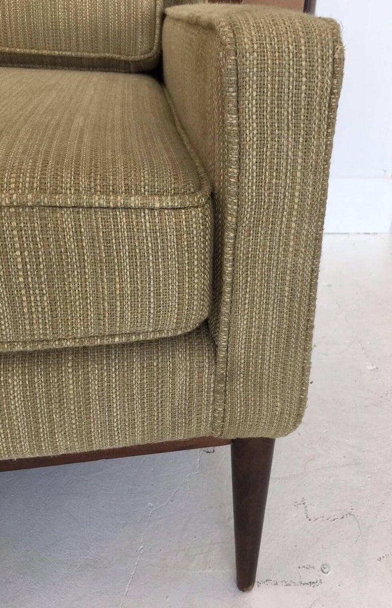 Wood Mid-Century Modern Sofa by Paul McCobb For Sale