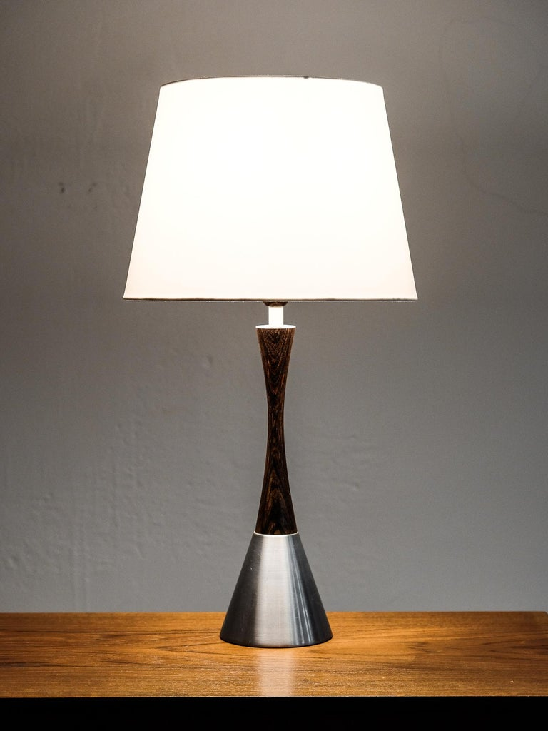 Mid-Century Modern Table Lamp by Bergboms, Sweden, 1960s In Good Condition For Sale In Helsinki, FI