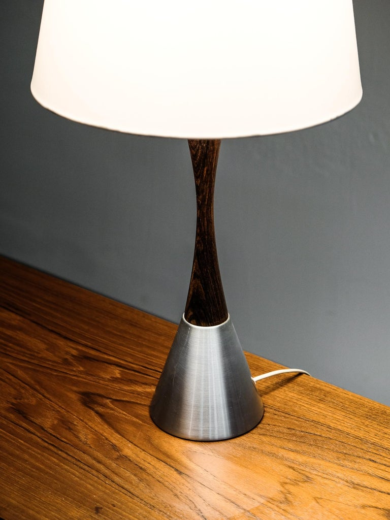 Mid-20th Century Mid-Century Modern Table Lamp by Bergboms, Sweden, 1960s For Sale