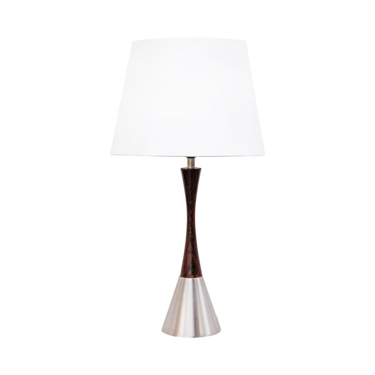 Mid-Century Modern Table Lamp by Bergboms, Sweden, 1960s For Sale