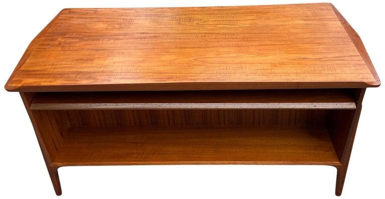 Mid-Century Modern Teak Desk Designed by Svend Aage Madsen For Sale 3