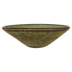 Midcentury Modern Unique Large Ceramic Bowl Carl-Harry Stålhane Rörstrand Sweden