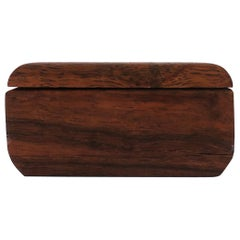 Midcentury Modern Wood Box