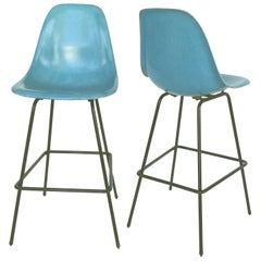Midcentury Modernica Bar Stools Attributed to Eames