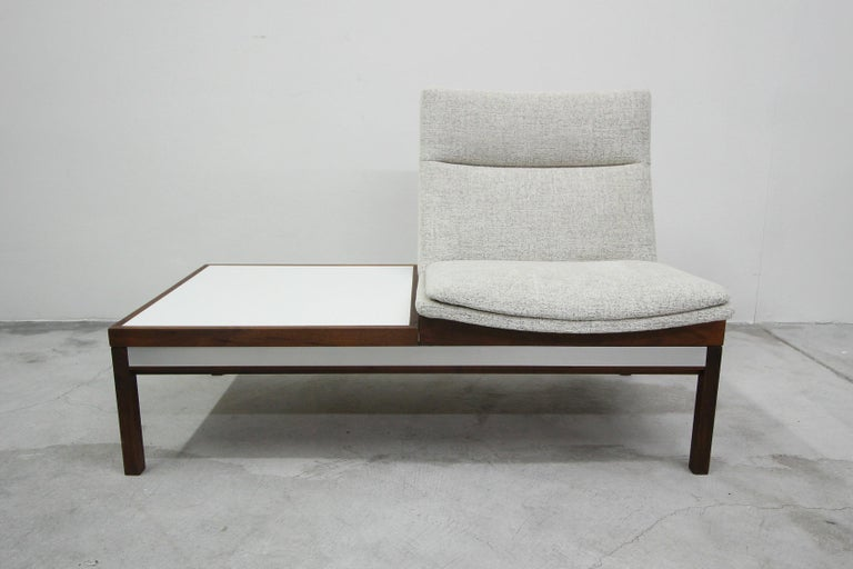 Midcentury Modular Chair And Side Table By Arthur Umanoff
