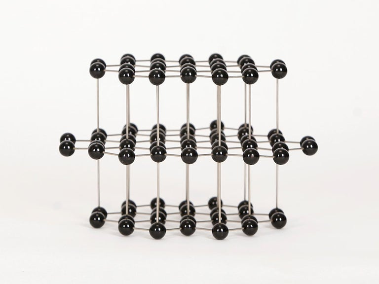 Midcentury Molecular Models Set from the 1950s, 7 Pieces For Sale 3