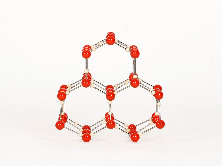 Midcentury Molecular Models Set from the 1950s, 7 Pieces For Sale 4