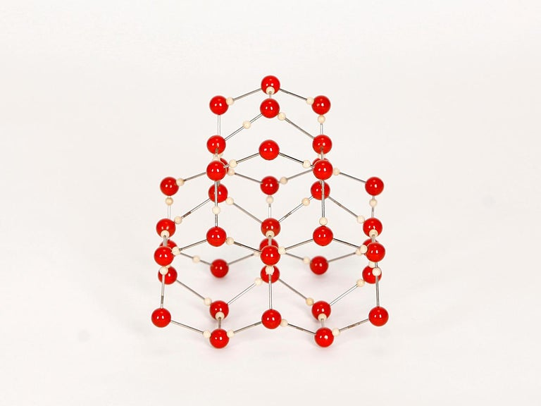 Midcentury Molecular Models Set from the 1950s, 7 Pieces For Sale 5