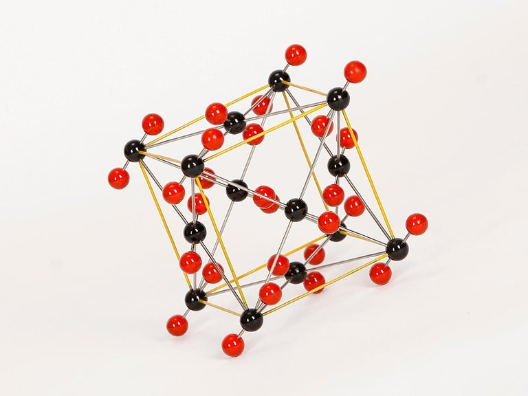 Midcentury Molecular Models Set from the 1950s, 7 Pieces For Sale 6