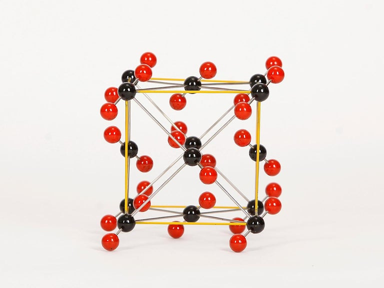 Midcentury Molecular Models Set from the 1950s, 7 Pieces For Sale 7