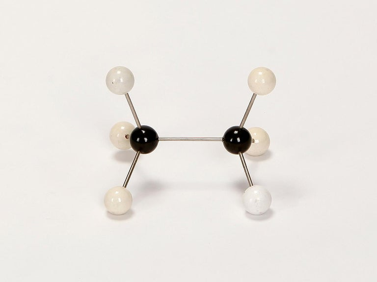 Czech Midcentury Molecular Models Set from the 1950s, 7 Pieces For Sale