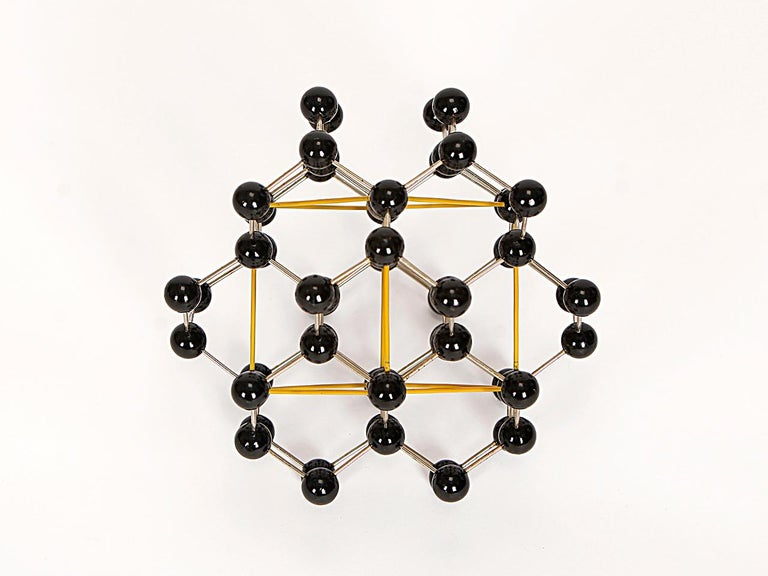 Midcentury Molecular Models Set from the 1950s, 7 Pieces For Sale 1