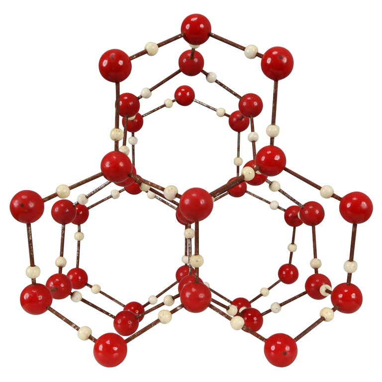 Midcentury Molecular Structure for Didactic Purposes Made in the 1950s For Sale