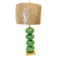 Midcentury Murano Glass Lamp