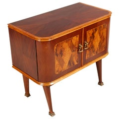 Midcentury Nightstand Paolo Buffa Attributed for Esposizione Mobili Cantù