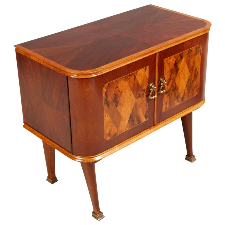 Midcentury Nightstand Paolo Buffa Attributed for Esposizione Mobili Cantù For Sale