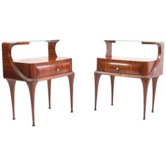 Midcentury Nightstands by Vittorio Dassi, Italy