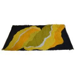 Midcentury Norwegian Carpet, Rug, 1960s