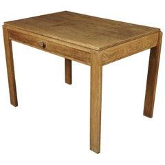 Midcentury Oak Desk from France, circa 1960
