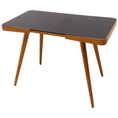 Midcentury Opaxite Glass Coffee Table, 1960s, Czechoslovakia