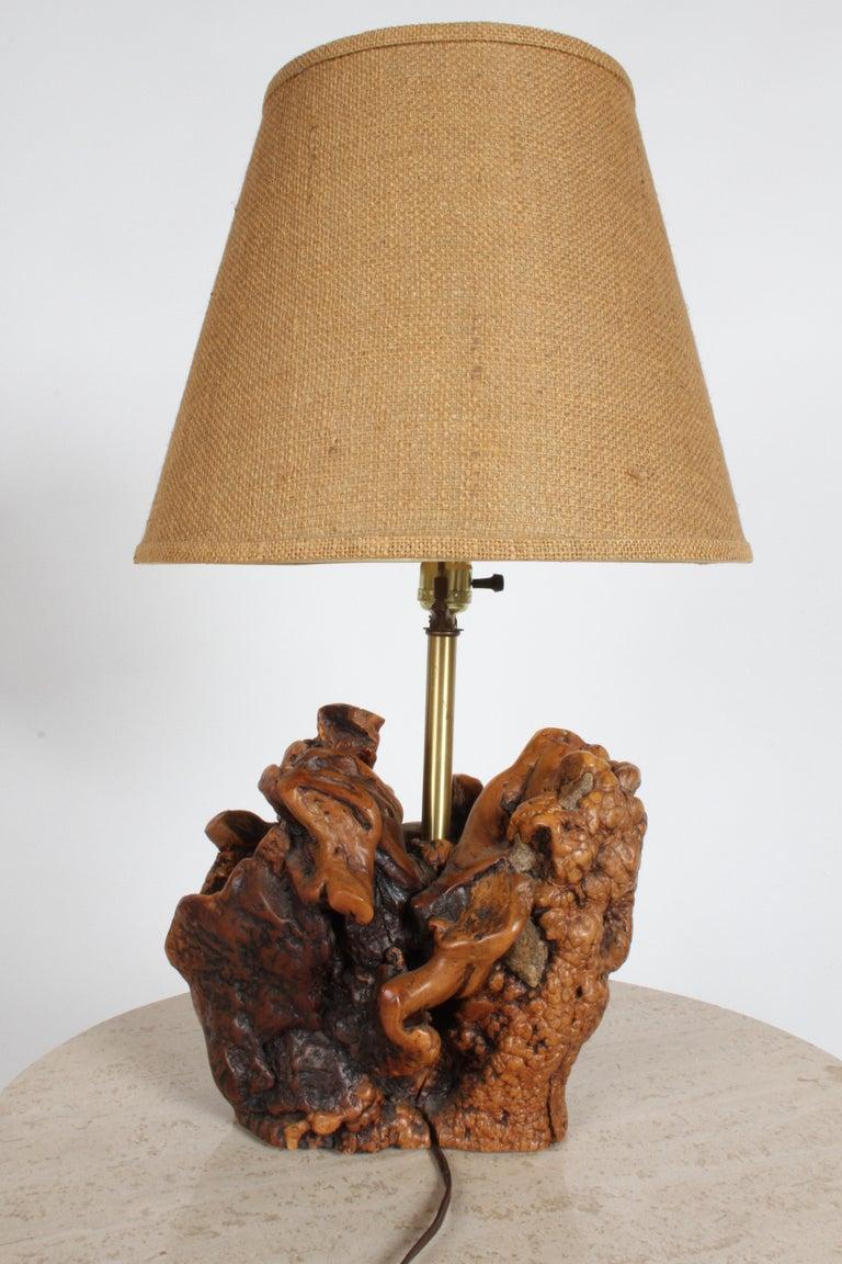 Midcentury Organic Modern Tree Root Lamp For Sale 5