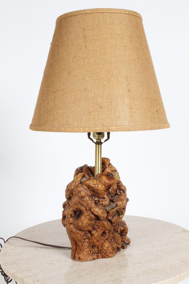 Midcentury Organic Modern Tree Root Lamp For Sale 1