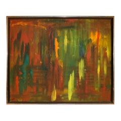 Midcentury Original Andrea Suter Oil Painting
